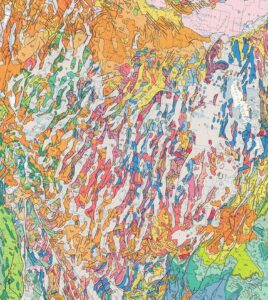 Map 2. Basin and Range Province Geology