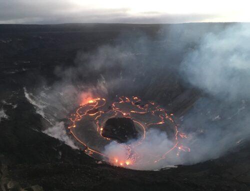 Kilauea Stirring