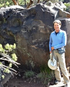 Rock art near Rio Grande
