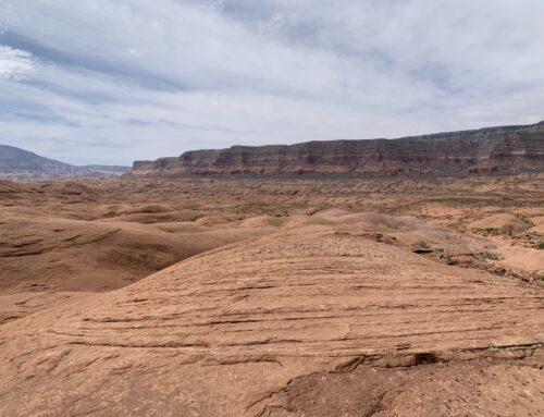 The Escalante Sandstone Sea