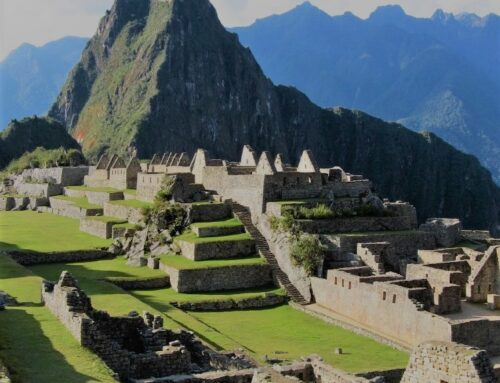 """Machu Picchu and Mysterious """"Gold"""" Mortar"""